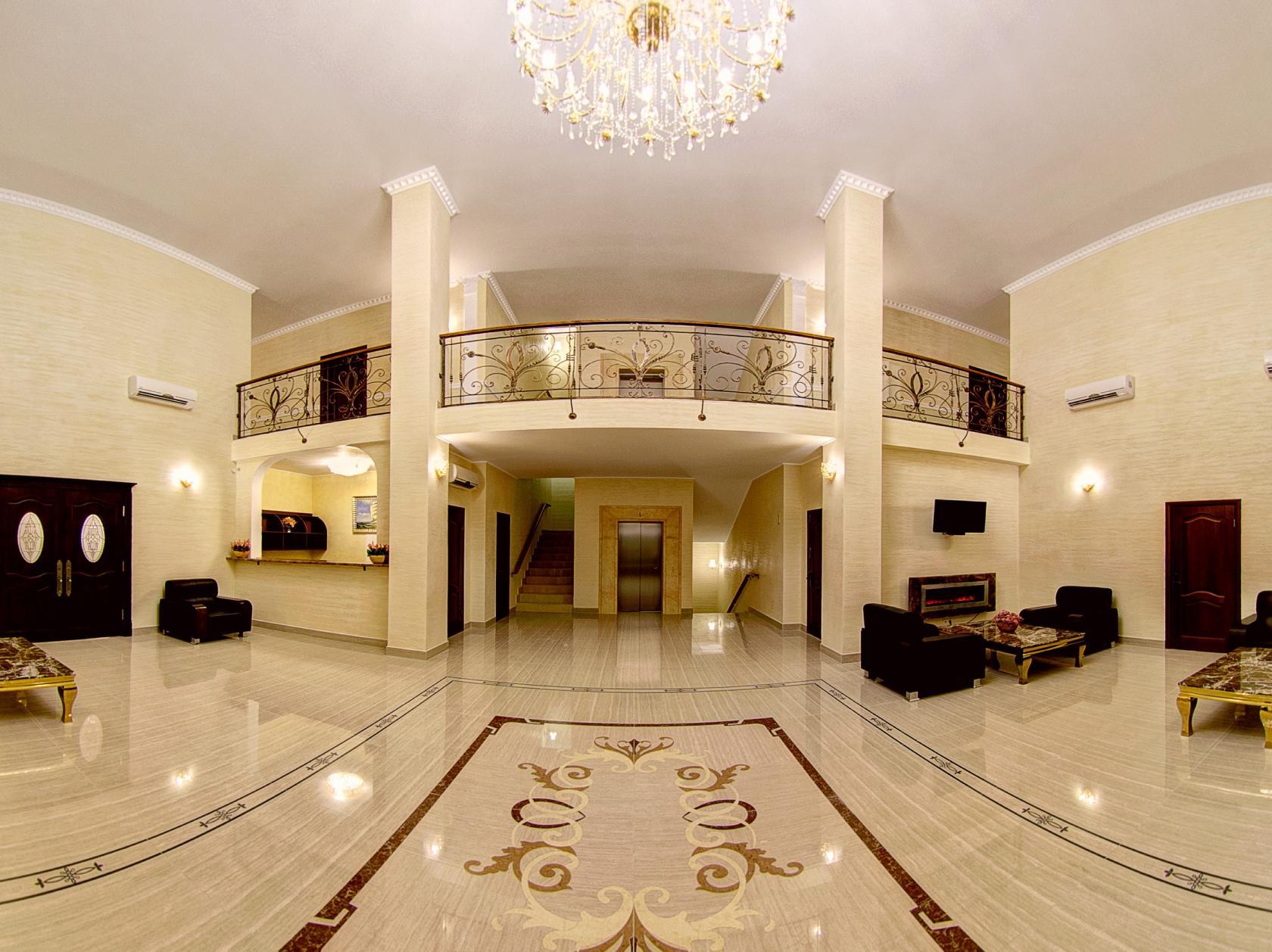 Холл гостиницы в картинках